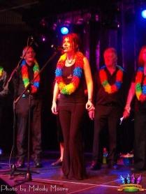 maz singing with choir